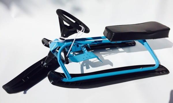 Купить Снегокат River Toys - синий в интернет магазине игрушек и детских товаров