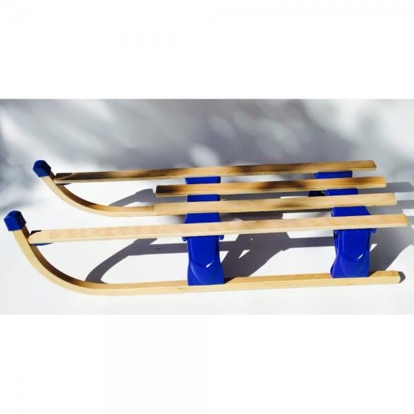 Купить Деревянные складные санки River Toys - 80 см в интернет магазине игрушек и детских товаров