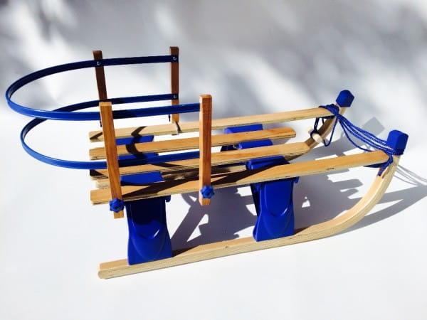 Купить Складные санки River Toys - 110 см в интернет магазине игрушек и детских товаров