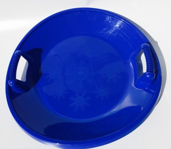 Купить Ледянка с ручками River Toys (диаметр 63 см) в интернет магазине игрушек и детских товаров