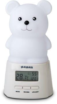 Термогигрометр c ночником Maman BL201