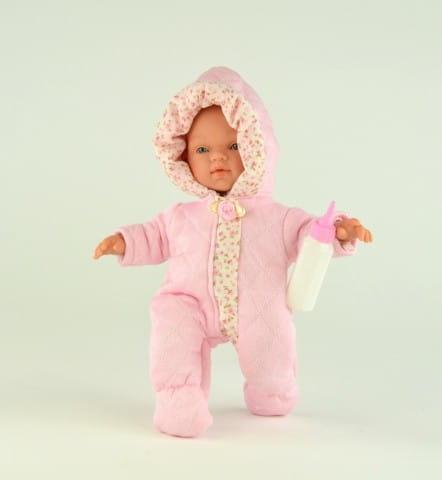 Купить Кукла-пупс Asi Гугу - 27 см (в розовом комбинезоне) в интернет магазине игрушек и детских товаров