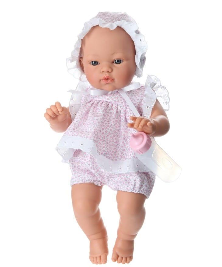 Кукла-пупс со звуком Asi 402730 Коки - 36 см (в костюме с розовыми цветочками)