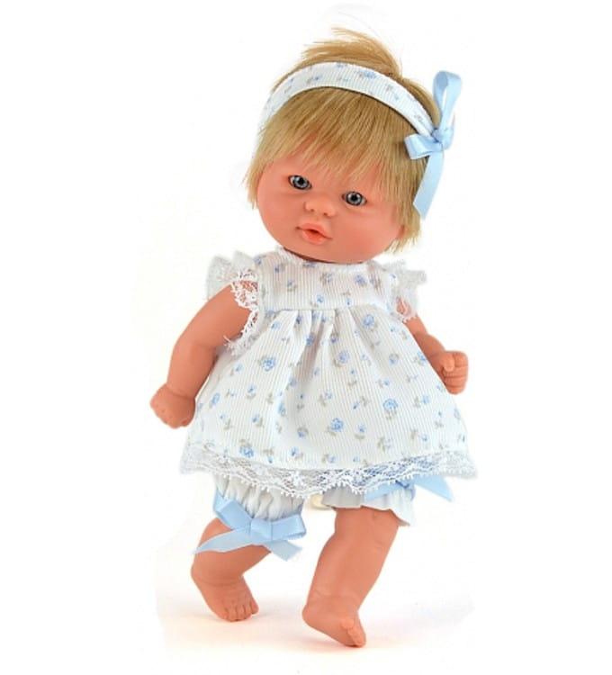 Кукла-пупс Mama Ciguena Peque Asi 2114022 - 20 см (в сарафане в цветочек)