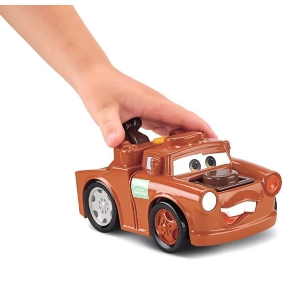 Купить Машинка Fisher Price Тачки-2 - Мэтр (со светом и звуком) в интернет магазине игрушек и детских товаров