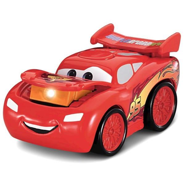 Купить Машинка Fisher Price Тачки-2 - Маккуин (со светом и звуком) в интернет магазине игрушек и детских товаров