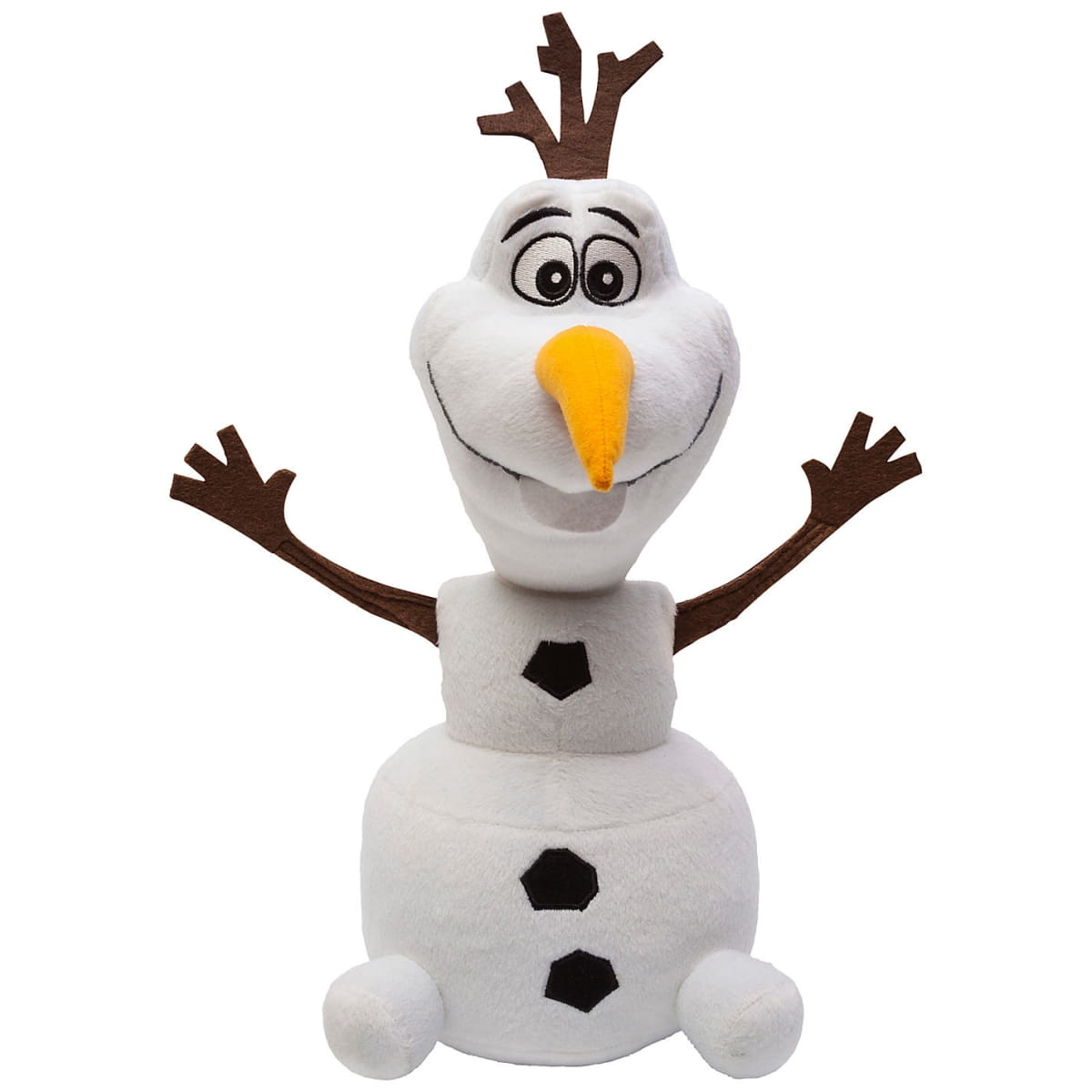 Кукла-снеговик со звуковыми эффектами Disney Princess 74861 Холодное сердце Олаф мягконабивной (Mattel)
