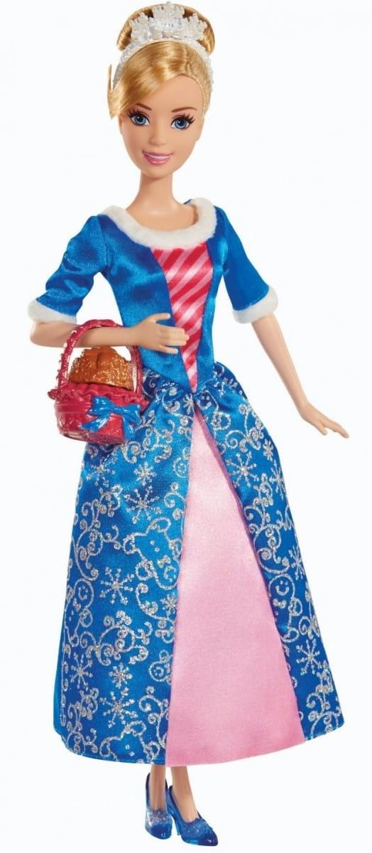 Кукла Disney Princess BDJ10 Принцесса Золушка с ароматизированным печеньем (Mattel)