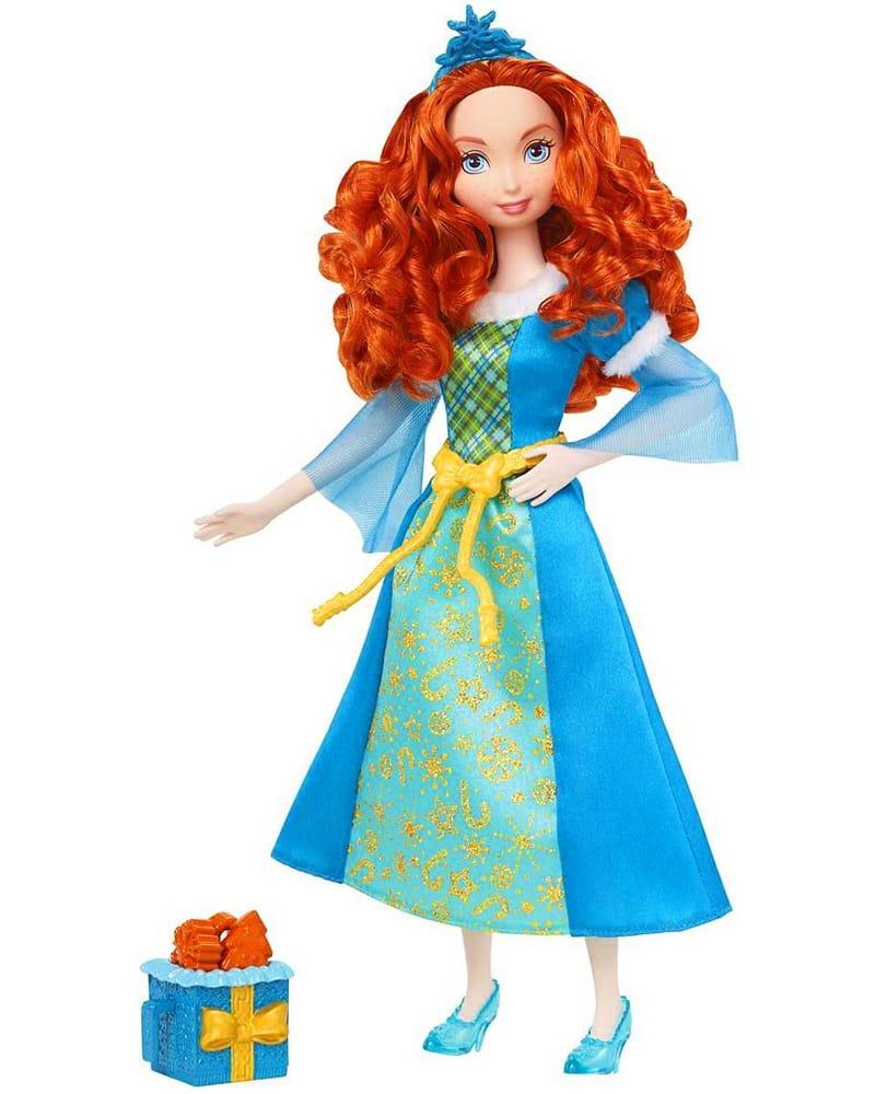 Кукла Disney Princess BDJ10 Принцесса Мерида с ароматизированным печеньем (Mattel)