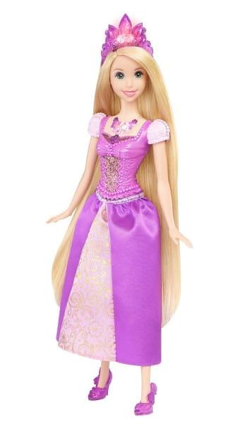 Кукла со световыми эффектами Disney Princess BDJ22 Ослепительные принцессы - Рапунцель (Mattel)