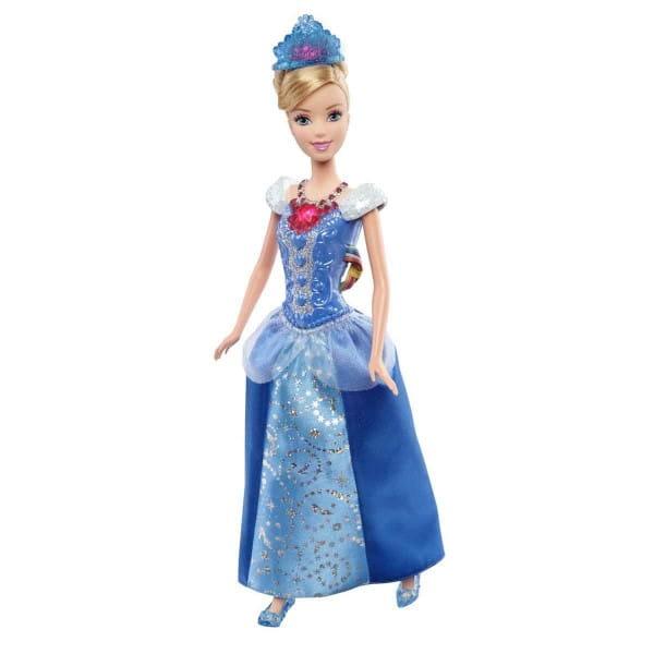 Кукла со световыми эффектами Disney Princess Ослепительные принцессы - Золушка (Mattel)