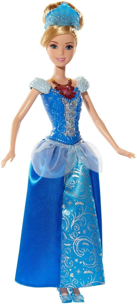 Кукла со световыми эффектами Disney Princess BDJ22 Ослепительные принцессы - Золушка (Mattel)