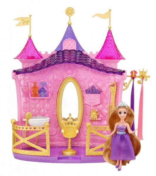 Игровой набор Disney Princess Салон красоты Рапунцель (Mattel)