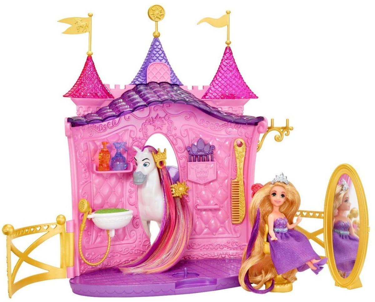 Игровой набор Disney Princess BDJ57 Салон красоты Рапунцель (Mattel)