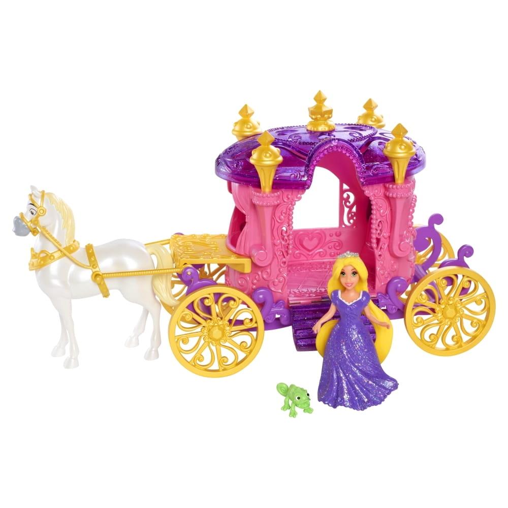 Игровой набор Disney Princess BDK06 Карета Принцессы Рапунцель с лошадкой (Mattel)