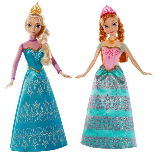 Игровой набор Disney Princess Принцессы Анна и Эльза (Mattel)