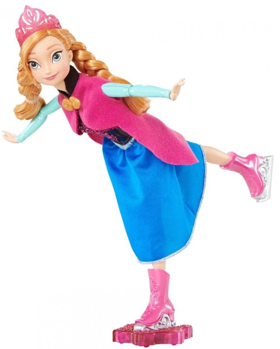 Кукла Disney Princess CBC61 Холодное сердце - Анна на фигурных коньках (Mattel)