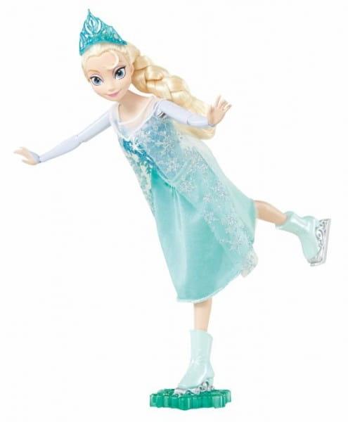 Кукла Disney Princess Холодное сердце - Эльза на фигурных коньках (Mattel)
