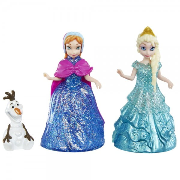 Игровой набор Disney Princess CBM27 Анна и Эльза с Олафом (Mattel)