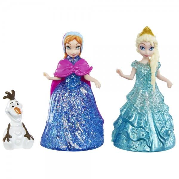 Игровой набор Disney Princess Анна и Эльза с Олафом (Mattel)