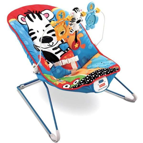 Купить Кресло-качалка Fisher Price Животные (Mattel) в интернет магазине игрушек и детских товаров