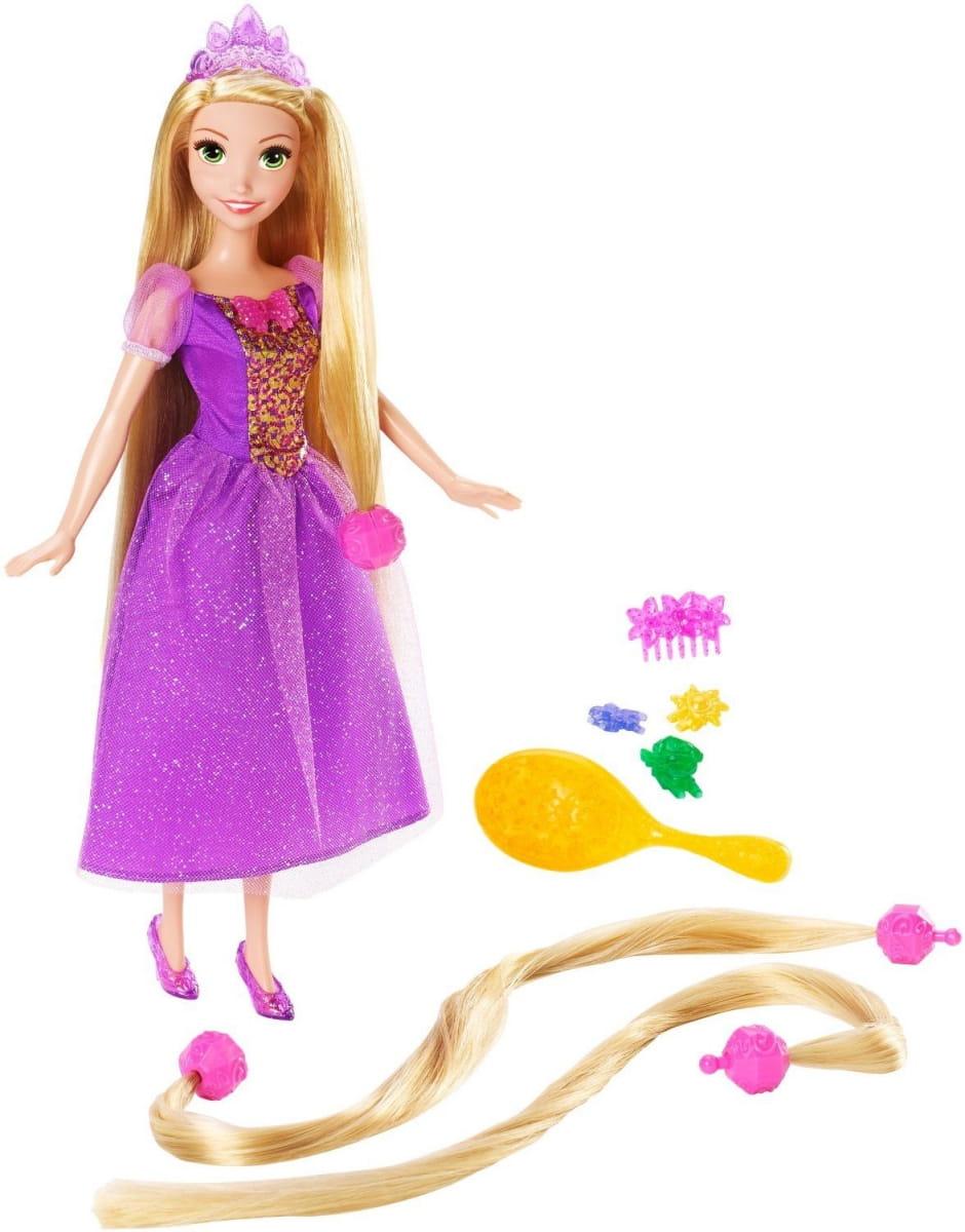 Кукла Disney Princess CJP12 Принцесса Сказочные волосы Рапунцель (Mattel)