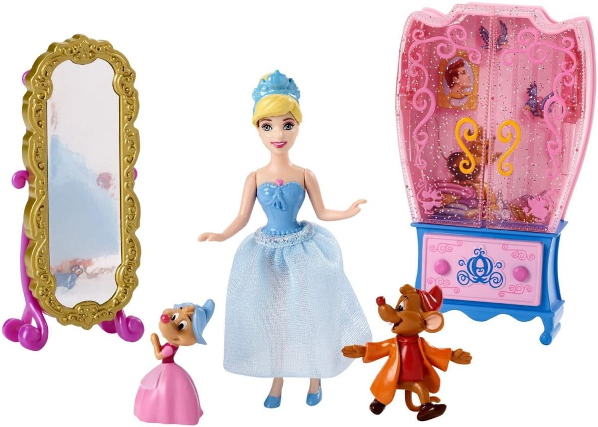 Игровой набор Disney Princess CJP36 Золушка с аксессуарами 2 (Mattel)