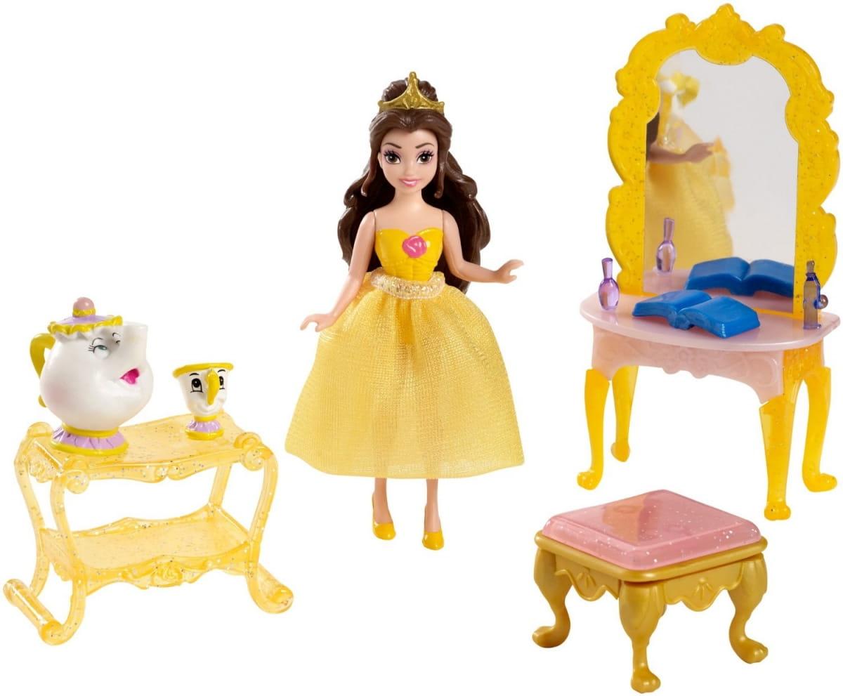 Игровой набор Disney Princess CJP36 Белль с аксессуарами 2 (Mattel)