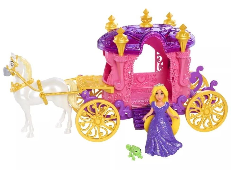 Игровой набор Disney Princess CJP94 Рапунцель с каретой и лошадью (Mattel)