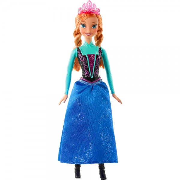 Кукла Disney Princess CJX74 Холодное сердце - Анна 2 (Mattel)
