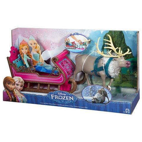 Игровой набор Disney Princess Холодное сердце Олень Свен с санями (Mattel)