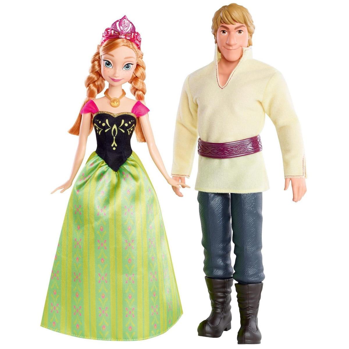 Игровой набор Disney Princess CMT82 Холодное сердце Анна и Кристоф 2 (Mattel)