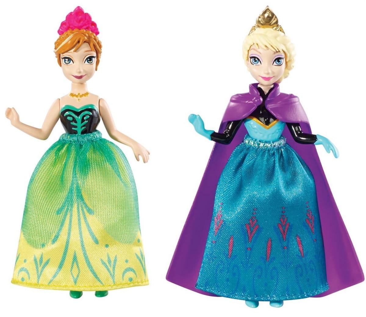 Игровой набор Disney Princess DFR78 Холодное сердце Сестры принцессы Анна и Эльза (Mattel)