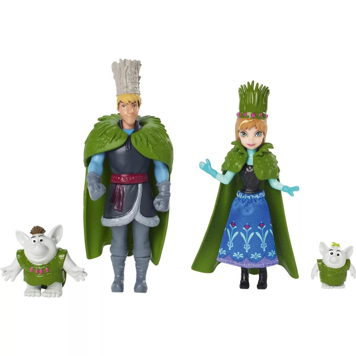 Игровой набор Disney Princess DFR79 Холодное сердце Анна и Кристоф с троллями (Mattel)