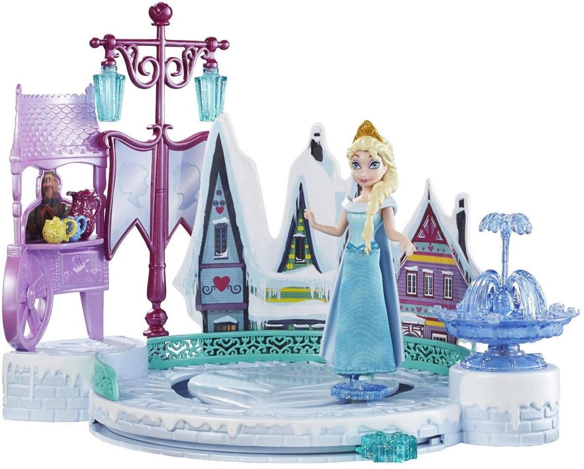 Игровой набор Disney Princess DFR88 Холодное сердце Эльза с катком (Mattel)
