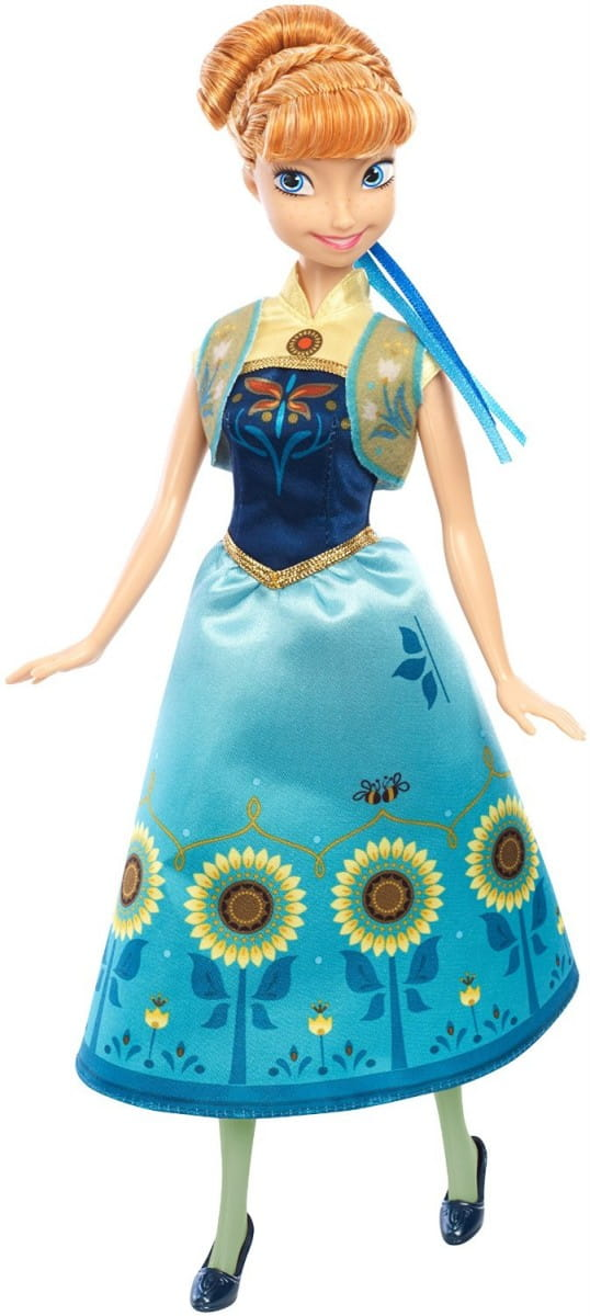 Кукла Disney Princess DGF54 Холодное сердце Birthday Party - Анна (Mattel)