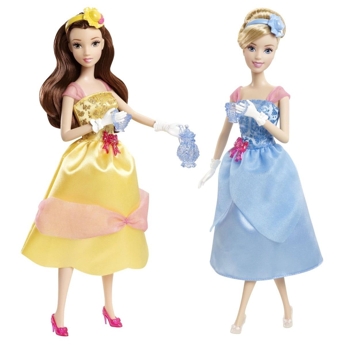 Игровой набор Disney Princess X9352 Королевское чаепитие с Золушкой и Белль (Mattel)