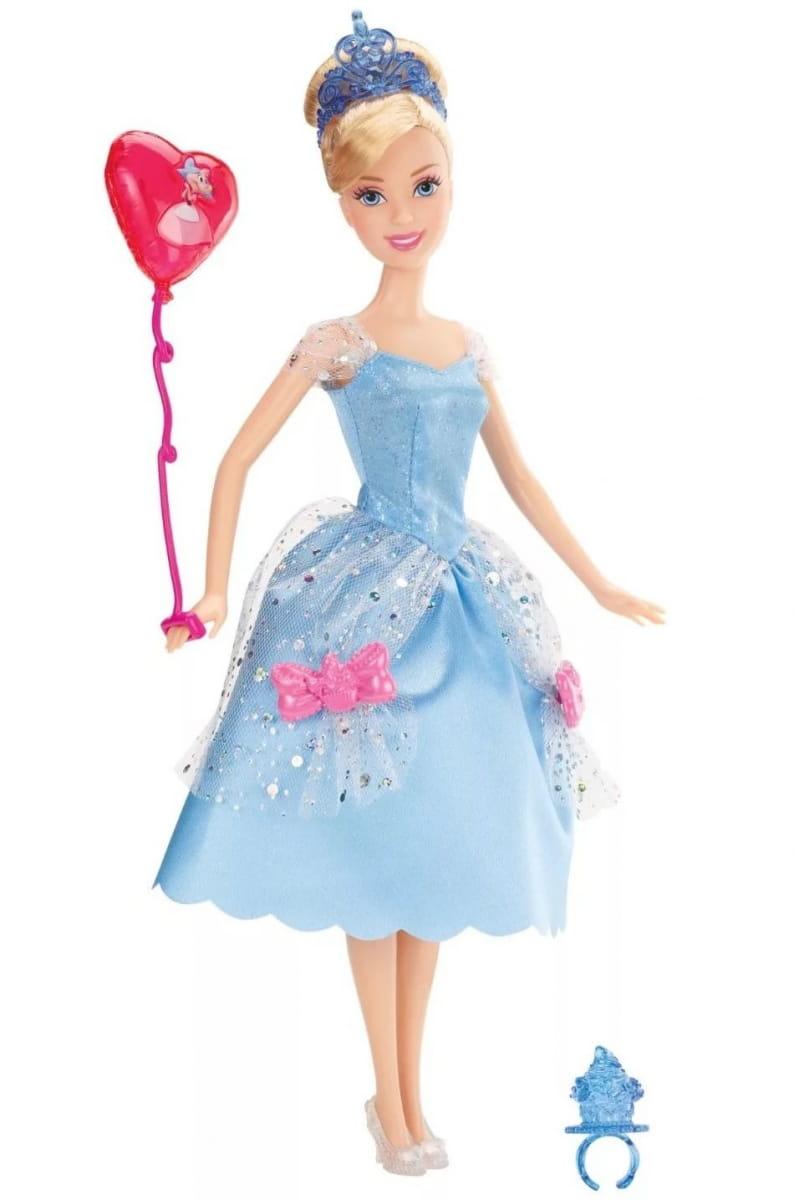 Кукла Disney Princess X9353 Принцесса Диснея Золушка с воздушным шариком и аксессуарами (Mattel)