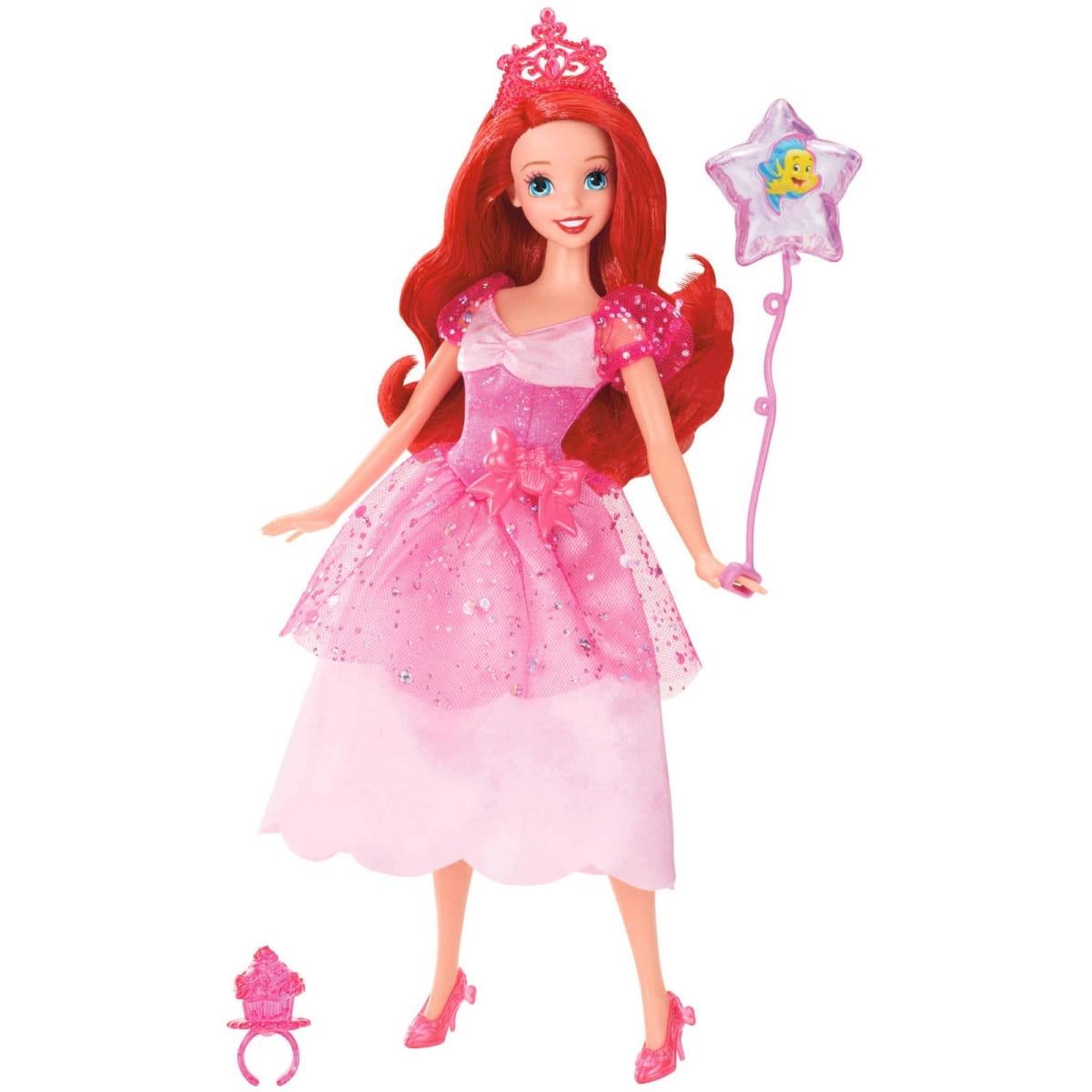 Кукла Disney Princess X9353 Принцесса Диснея Ариэль с воздушным шариком и аксессуарами (Mattel)