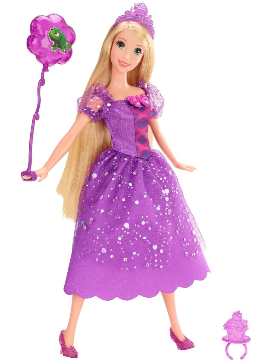 Кукла Disney Princess X9353 Принцесса Диснея Рапунцель с воздушным шариком и аксессуарами (Mattel)