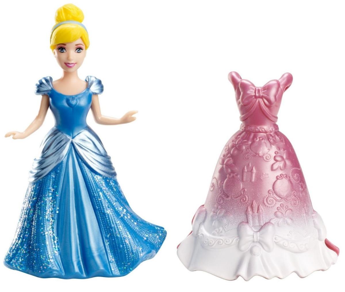 Мини-кукла Disney Princess X9404 Принцесса Диснея Золушка с платьем (Mattel)