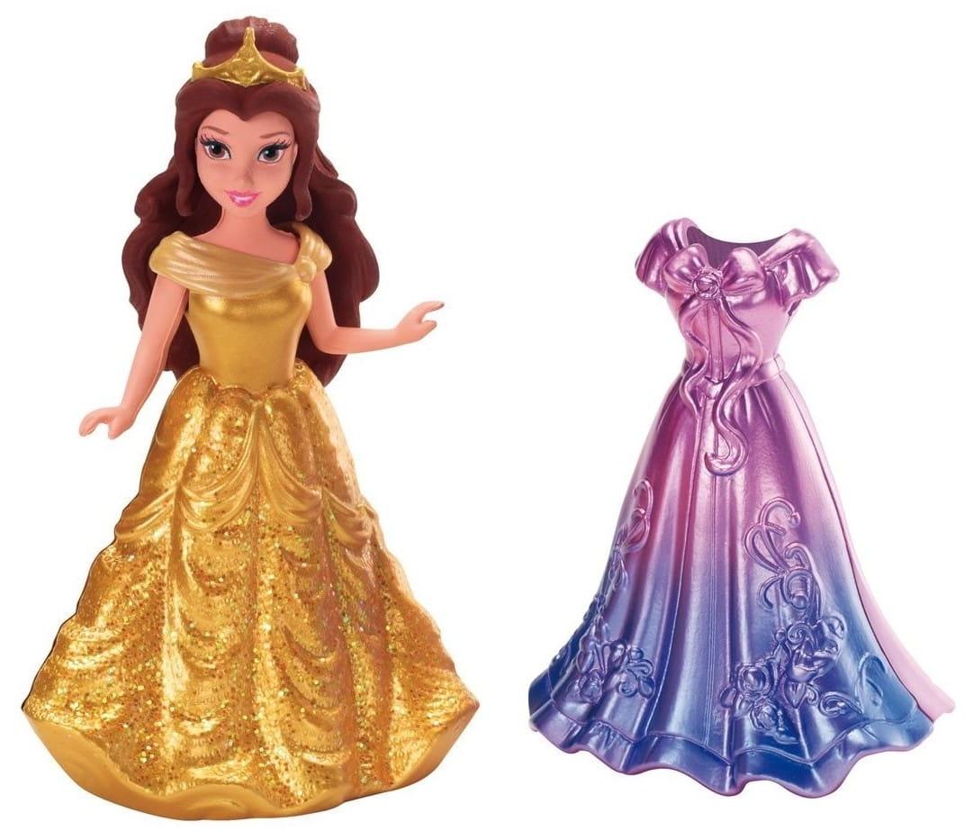 Мини-кукла Disney Princess X9404 Принцесса Диснея Белль с платьем (Mattel)