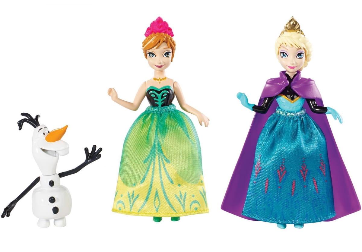 Подарочный набор Disney Princess Y9975 Холодное сердце Сестры принцессы Анна и Эльза 2 (Mattel)