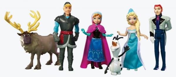 Подарочный набор Disney Princess Холодное сердце Сестры принцессы Анна Эльза 3 (Mattel)