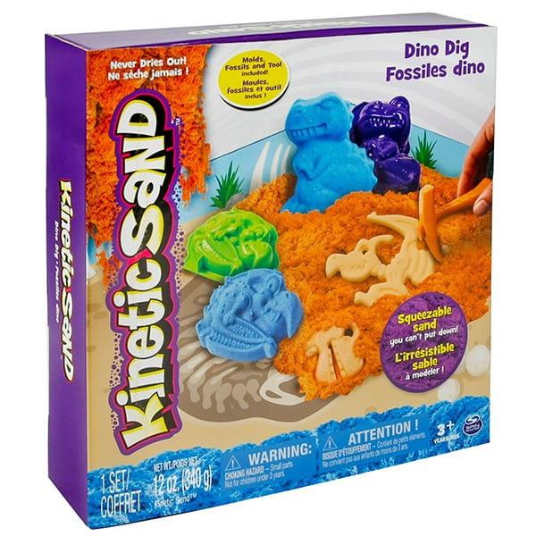 Игровой набор c формочками и песком для лепки Kinetic Sand (340 грамм)