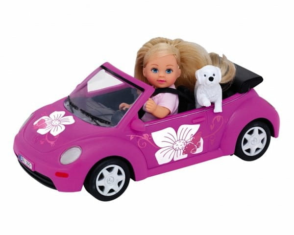 Игровой набор Evi Еви на машине (Simba)