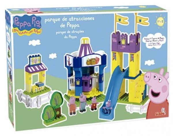 Конструктор Peppa Pig Парк развлечений - 126 деталей (Вig)