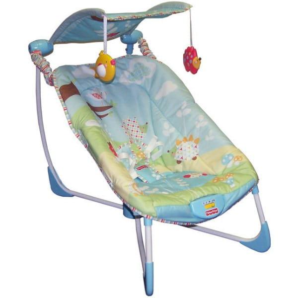 Купить Мобильные качели-шезлонг Fisher Price (Mattel) в интернет магазине игрушек и детских товаров