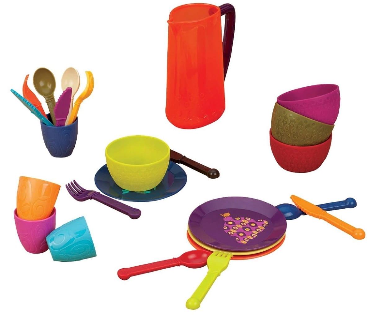 Набор игрушечной посуды B Dot b68693