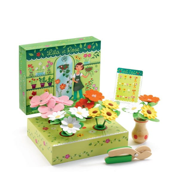 Купить Игрушечный деревянный цветочный магазин Djeco в интернет магазине игрушек и детских товаров